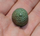 "A lovely, intact and usable Early Medieval ""Beehive"" bronze thimble. SOLD"